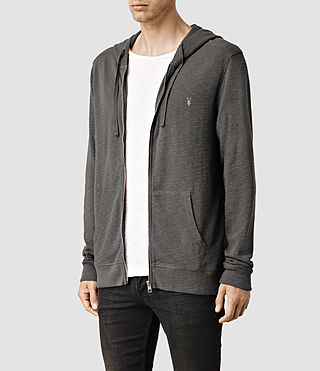Hommes Clash Hoody (Slate Grey) - product_image_alt_text_2