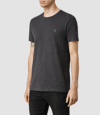 Men's Soul Crew T-Shirt (Washed Black) - product_image_alt_text_2