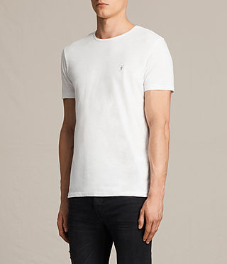 Hombres Soul Crew T-Shirt (Chalk White) - product_image_alt_text_3
