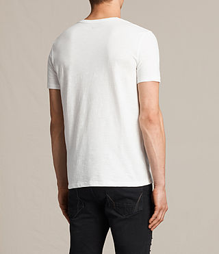 Men's Soul Crew T-Shirt (Chalk White) - product_image_alt_text_4