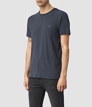 Hommes Soul Crew T-Shirt (Vntg Ocean Blue) - product_image_alt_text_2
