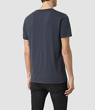 Hommes Soul Crew T-Shirt (Vntg Ocean Blue) - product_image_alt_text_3
