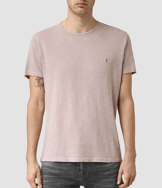Mens Soul Crew T-Shirt (Vntg Sphinx Pink) - product_image_alt_text_1