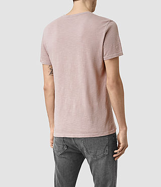 Men's Soul Crew T-Shirt (Vntg Sphinx Pink) - product_image_alt_text_3