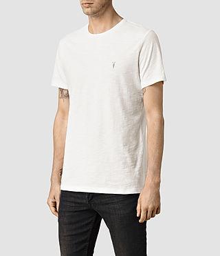 Mens Soul Crew T-Shirt (Chalk) - product_image_alt_text_2