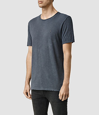 Hombre Henning Crew T-shirt (Nights) - product_image_alt_text_2