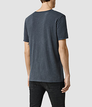 Mens Henning Crew T-shirt (Nights) - product_image_alt_text_3