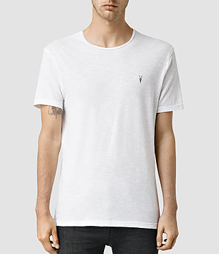 Hommes Henning Crew T-shirt (Optic White)