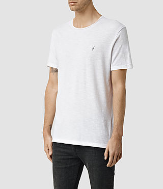 Hombre Henning Crew T-shirt (Optic White) - product_image_alt_text_2