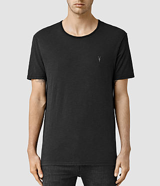 Men's Henning Crew T-shirt (Vintage Black) -