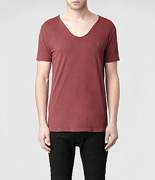 Mens Tonic Scoop T-Shirt (Hickory) - product_image_alt_text_1