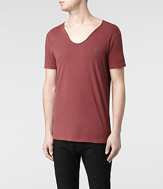 Mens Tonic Scoop T-Shirt (Hickory) - product_image_alt_text_3