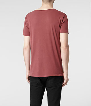 Mens Tonic Scoop T-Shirt (Hickory) - product_image_alt_text_4
