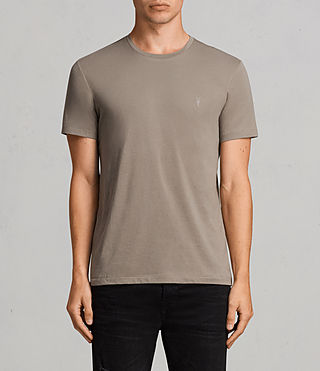 Men's Tonic Crew T-Shirt 3 Pack (KHAKI/WHITE/BLACK) - product_image_alt_text_2