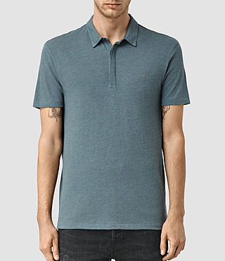 Men's Tonic Panel Polo Shirt (DeepOcean Blue Mrl)