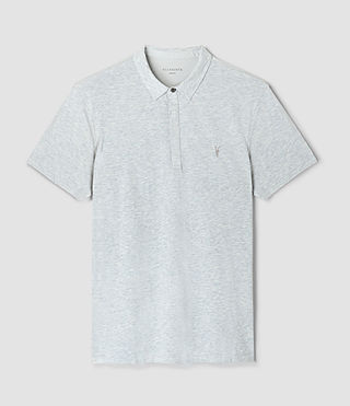 Hombres Tonic Panel Polo Shirt (MIRAGE BLUE) - product_image_alt_text_4