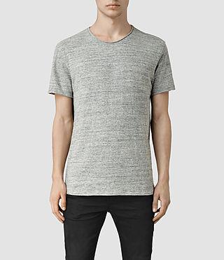 Mens Warn Flame Crew T-Shirt (Grey Mouline)