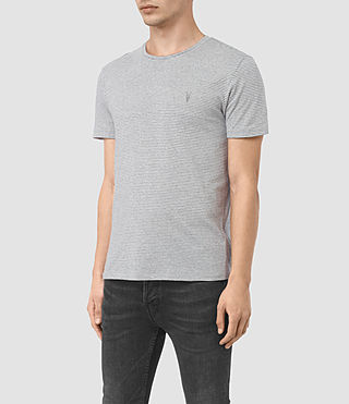 Men's Bali Tonic Crew T-Shirt (Ash Grey) - product_image_alt_text_2