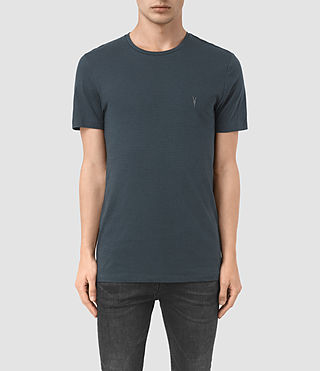 Herren Bali Tonic Crew T-Shirt (Workers Blue) -