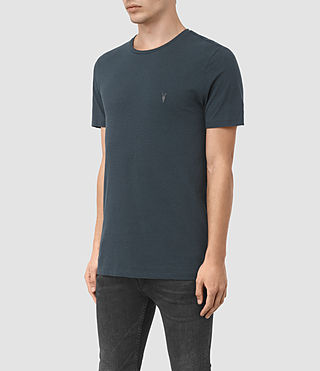 Herren Bali Tonic Crew T-Shirt (Workers Blue) - product_image_alt_text_2