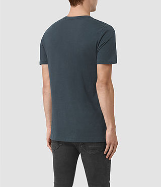 Herren Bali Tonic Crew T-Shirt (Workers Blue) - product_image_alt_text_3