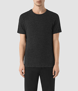 Men's Schans Crew T-Shirt (Cinder Black Marl)