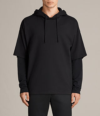 Men's Juniper Hoody (Jet Black) - Image 1