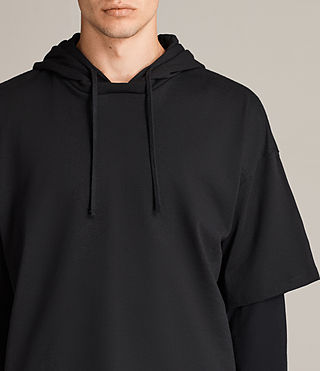 Men's Juniper Hoody (Jet Black) - Image 2