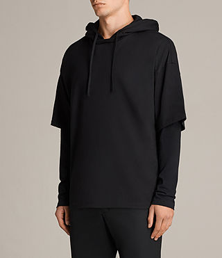 Men's Juniper Hoody (Jet Black) - Image 3