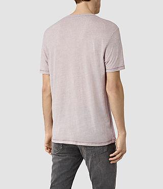 Men's Bric Crew T-Shirt (Ash Grey/Chlk Wht) - product_image_alt_text_3