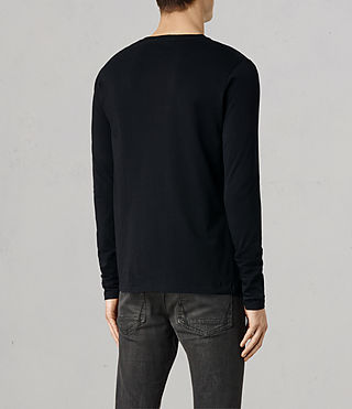 Men's Tonic Long Sleeve Crew T-shirt (Ink) - product_image_alt_text_3