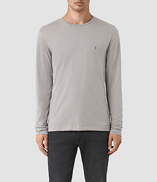 Men's Tonic Long Sleeve Crew T-shirt (LUNAR GREY) -