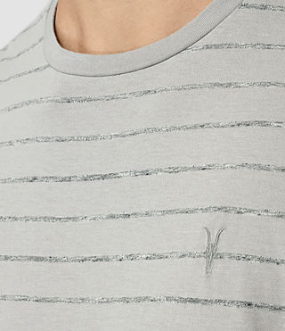 Hombres Drift Tonic Crew T-Shirt (MrgBlue/GryMouline) - product_image_alt_text_2
