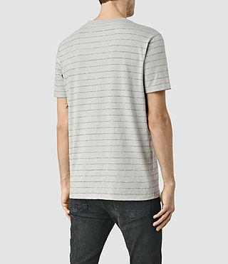 Hombres Drift Tonic Crew T-Shirt (MrgBlue/GryMouline) - product_image_alt_text_4
