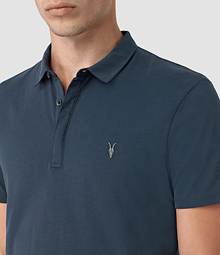 Hombre Brace Polo Shirt (Workers Blue) - product_image_alt_text_2