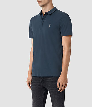 Hombre Brace Polo Shirt (Workers Blue) - product_image_alt_text_3