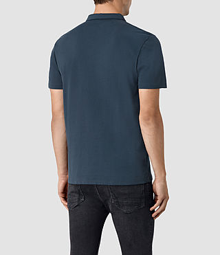 Hombre Brace Polo Shirt (Workers Blue) - product_image_alt_text_4