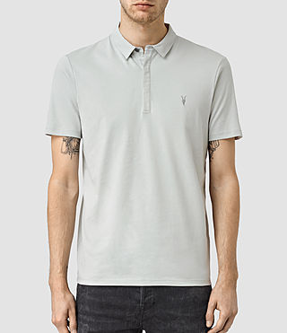 Mens Brace Polo Shirt (MIRAGE BLUE)
