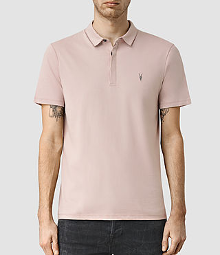 Men's Brace Polo Shirt (Sphinx Pink)