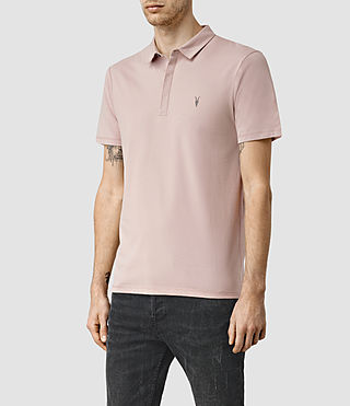 Herren Brace Polo Shirt (Sphinx Pink) - product_image_alt_text_2