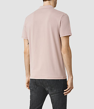 Herren Brace Polo Shirt (Sphinx Pink) - product_image_alt_text_3