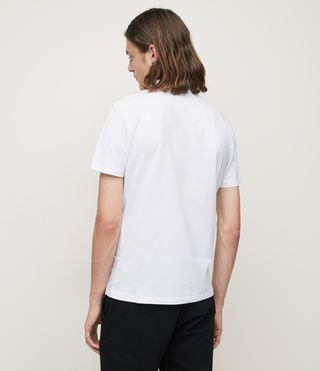 Mens Brace Polo Shirt (Optic White) - Image 4