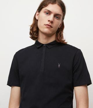 Herren Brace Polo Shirt (Jet Black) - product_image_alt_text_2