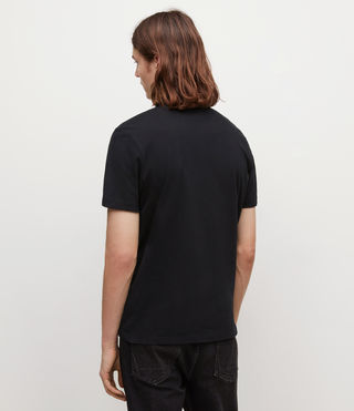 Men's Brace Polo Shirt (Jet Black) - product_image_alt_text_4