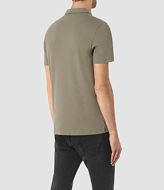 Hombres Brace Polo Shirt (QUARRY GREY) - product_image_alt_text_3