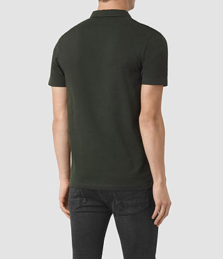 Uomo Brace Polo Shirt (Shadow Green) - product_image_alt_text_3