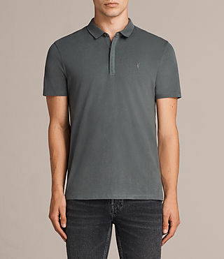 Hommes Brace Ss Polo (FLINT GREEN) -