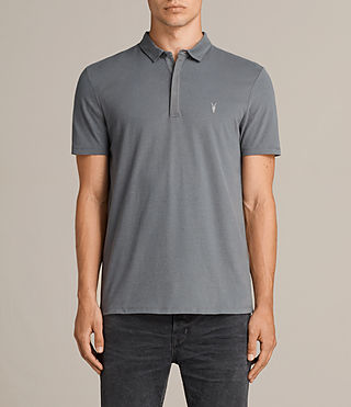 Mens Brace Polo Shirt (ARTILLERY BLUE) - product_image_alt_text_1