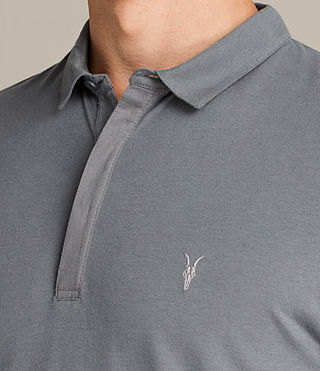 Men's Brace Polo Shirt (ARTILLERY BLUE) - Image 2