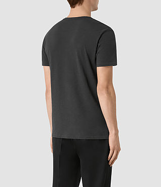 Herren Grinds Crew T-Shirt (Washed Black) - product_image_alt_text_3